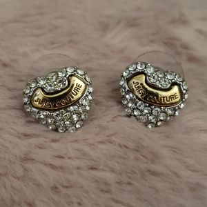 Juicy couture post earrings